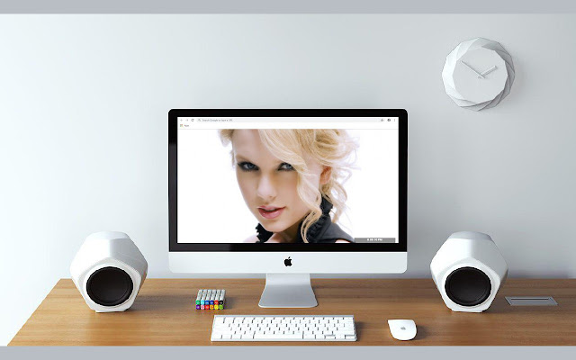 Taylor Swift New Tab & Wallpapers Collection