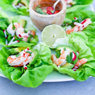 Vietnamese Lettuce Wraps.