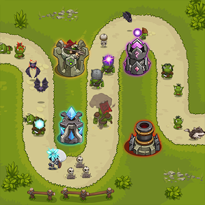 Tower Defense King v1.4.4 MOD APK Unlimited Gold – Ruby- VIP