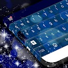 Blue Bubble Keyboard Skin icon