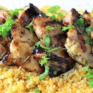 Mediterranean-Style Marinated Chicken.