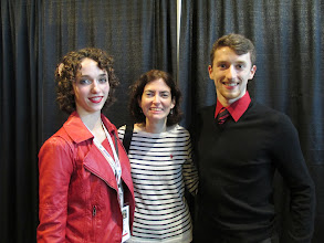 Photo: With the Danielle and Alex Gamelin