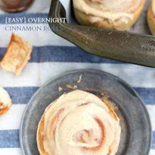 Easy Overnight Cinnamon Rolls