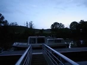 Photo: Moored at Caillac, midsummer eve