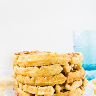 Hatch Chile Cornbread Waffles