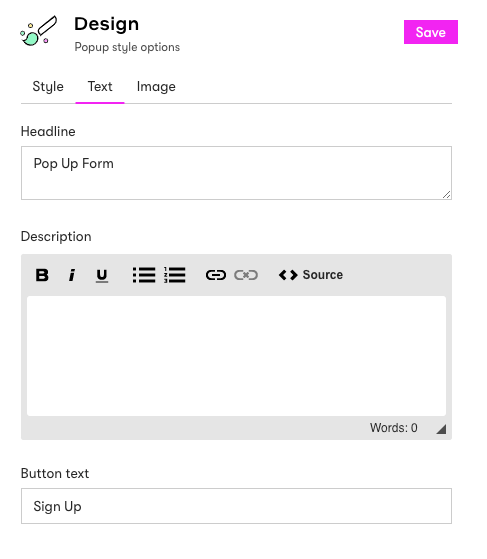 Form text box