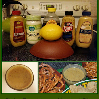 Dairy Free Honey Mustard Dip