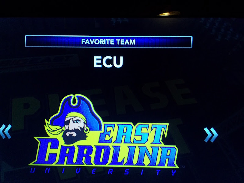 Photo: reminds me of Greenville, NC, when I took kids to ECU games