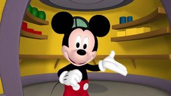 Mickey joue à cache-cache
