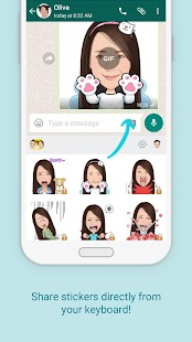 AiMee - GIF Sticker Keyboard- screenshot thumbnail