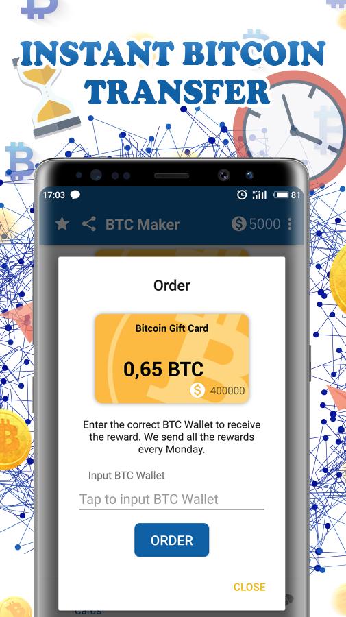 bitcoin maker apk bitcoin hívási lehetőségek