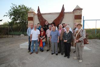 Photo: 17.05.2014 - Visita CR Bayona. Huesca. Memorial Galán - García