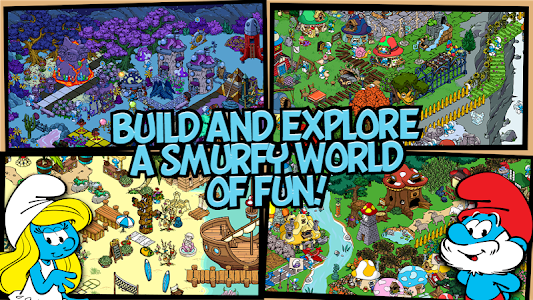 Smurfs' Village v1.7.3a (Mod Gold/Smurf Berry/Resource)