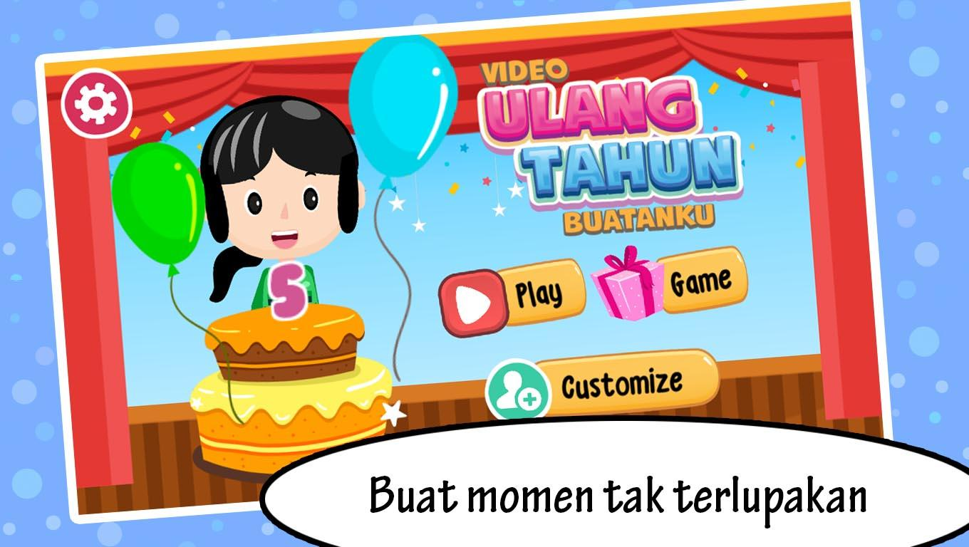 Video Ulang Tahun Buatanku Android Apps On Google Play