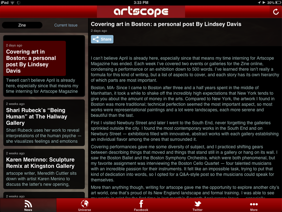 artscope- screenshot