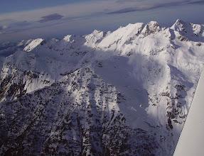 Photo: Pène Taillade et Pène Det Pourri en haut à droite. Le Capet 2328m juste devant.