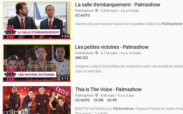 Youtube caption indicator