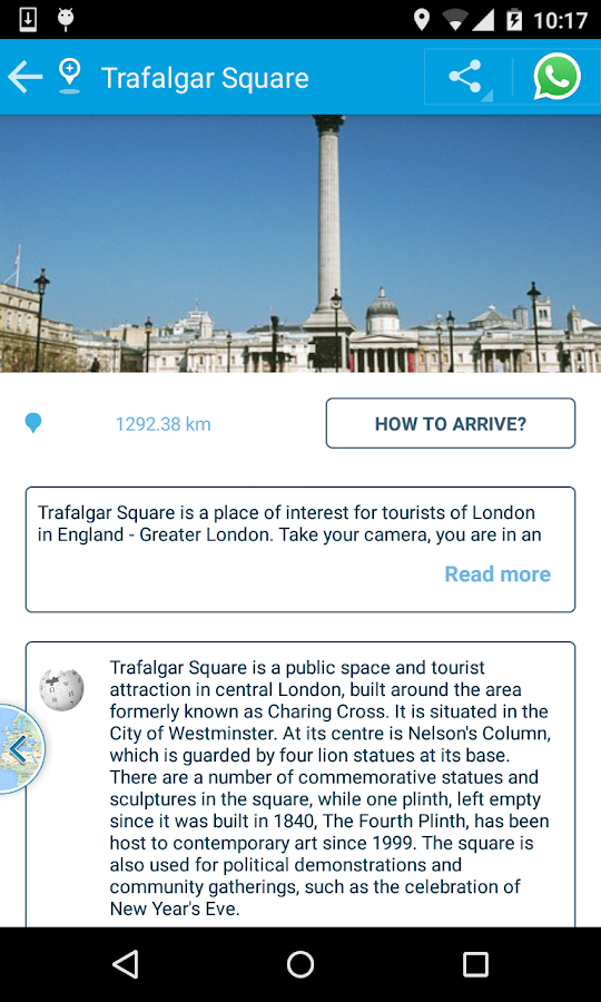 Troovel Itinerary Trip Planner- screenshot