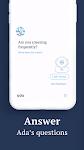 screenshot of Ada – your health companion