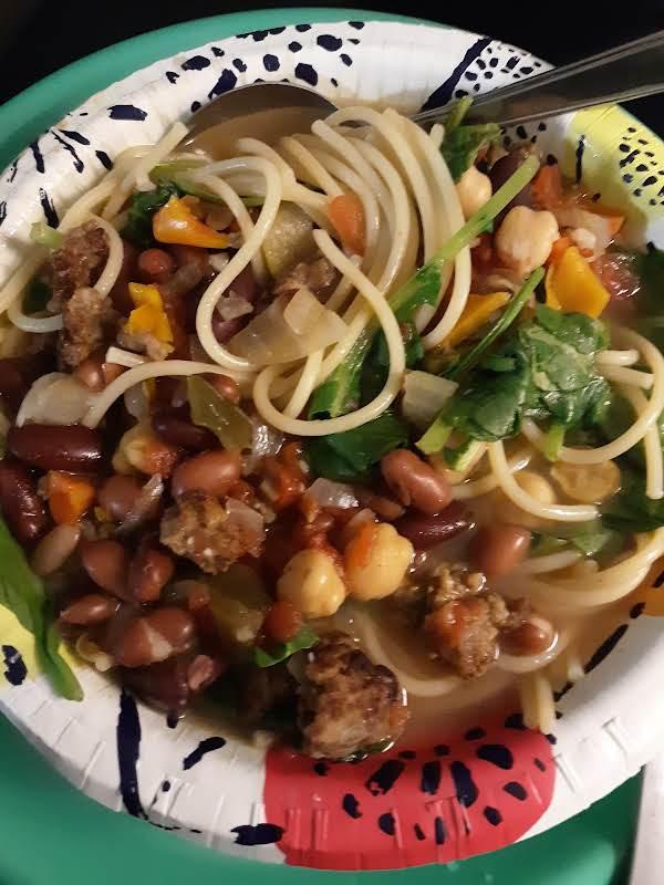 Hearty Italian Sausage Soup Recipe
