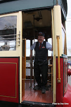 Photo: (Year 2) Day 346 - The Lovely Conductor on the Astoria Trolley