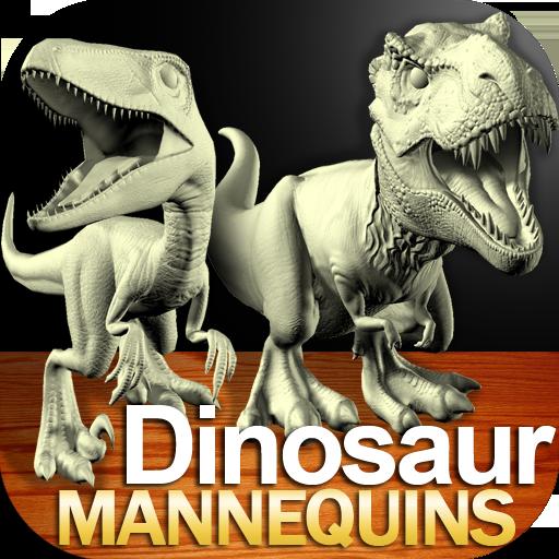 Dinosaur Mannequins