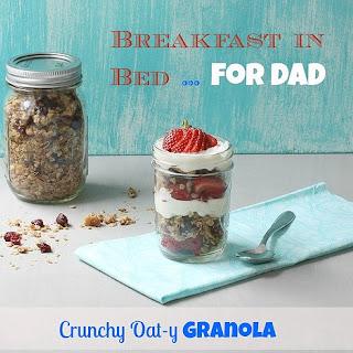 Crunchy Oat-y Granola