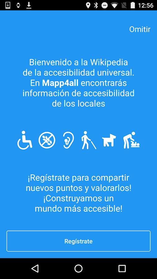 Mapp4all - Wikiaccessibility- screenshot