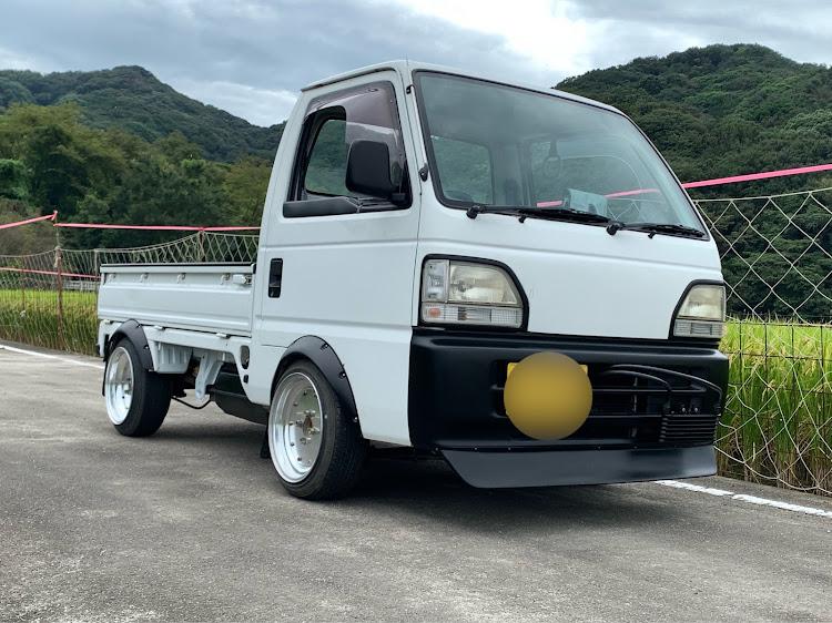 アクティトラック HA3のマーク1,ひっぱりタイヤ,旧車風に関するカスタム&メンテナンスの投稿画像1枚目