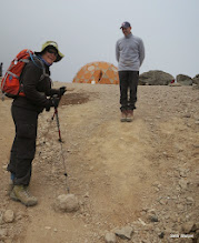 Photo: Just a few more steps to Lava Tower camp for lunch, but these things take time at ~15,000 ft!