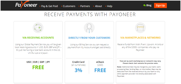 Payoneer Fees and Exchange Rates