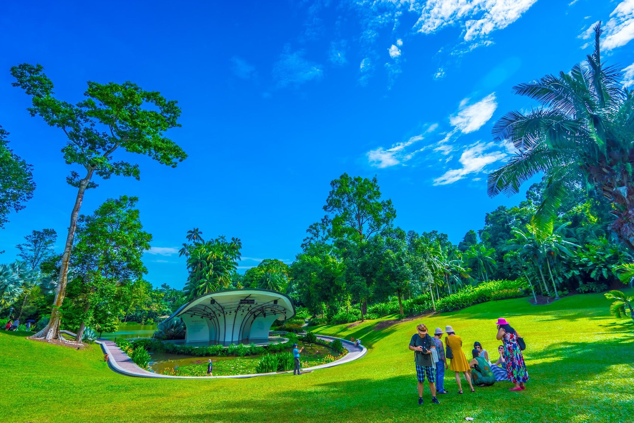 Singapore Botanic Gardens Symphony Stage1