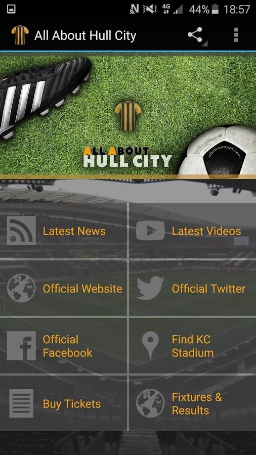 hull city app
