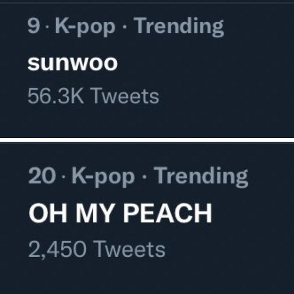 Sunwoo Peach Trending