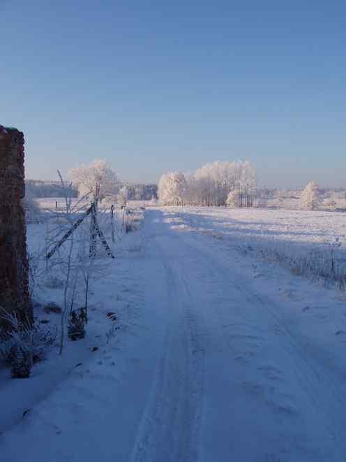 Photo: Zima w agroturystyce