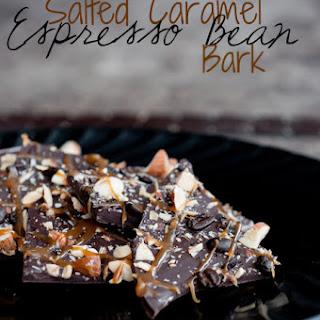 Salted Caramel and Espresso Bean Bark.