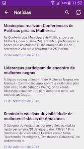 Portal da Mulher Amazonense screenshot 1