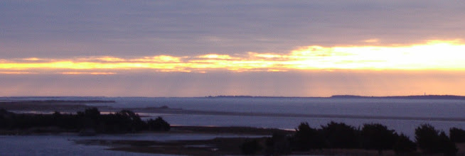 Photo: Winter sunrise - Cape Lookout on the right beyond Shackelford Banks