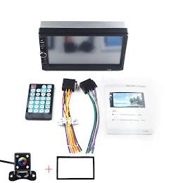 MP5 Player Auto, ecran 7 inch Touchscreen, camera marsarier si rama