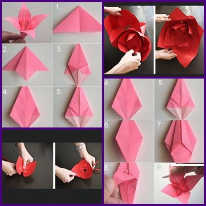 DIY Paper Flower Craft Screenshot