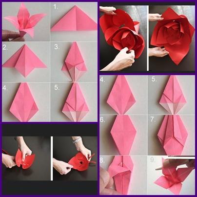 DIY Paper Flower Craft Screenshot
