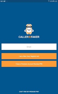 CallerIDFaker.com Original App Screenshot