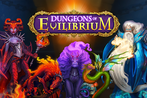 Screenshot of Dungeons of Evilibrium RPG