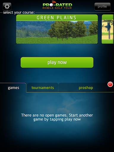 Pro Rated Mobile Golf Tour - screenshot
