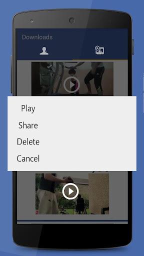 Video Downloader for Facebook 1.0.3 screenshots 3