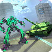 US Army Tank Robot Transform - Robot Transforming