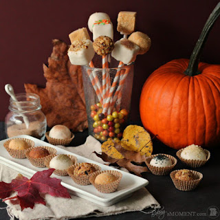 Pumpkin Cheesecake Truffle Pops