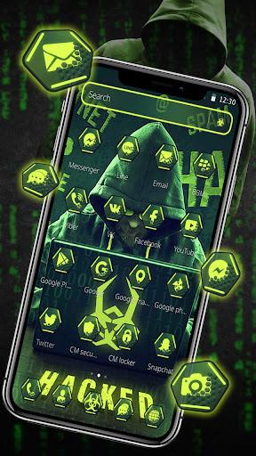 Secret Hacker Launcher Theme 1.1.5 screenshots 4