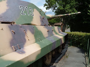 Photo: tigertank in La Gleize