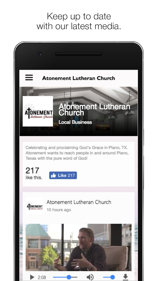 Atonement Lutheran Plano- screenshot
